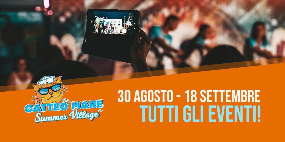 30 Agosto - 18 Settembre: Tutti gli Eventi!