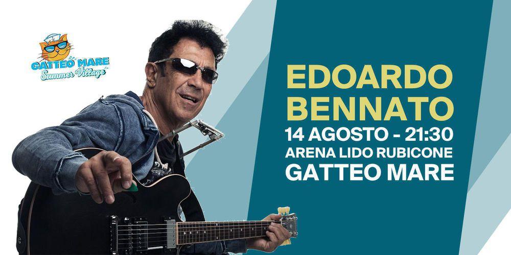 Edoardo Bennato Live - 14 Agosto a Gatteo Mare