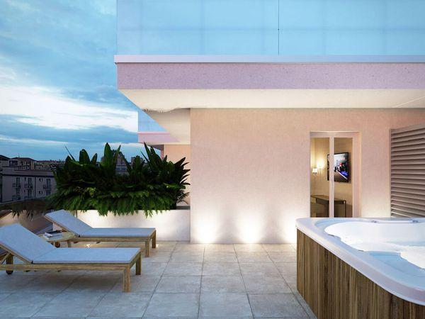 Hotel Estense - Camera panorama