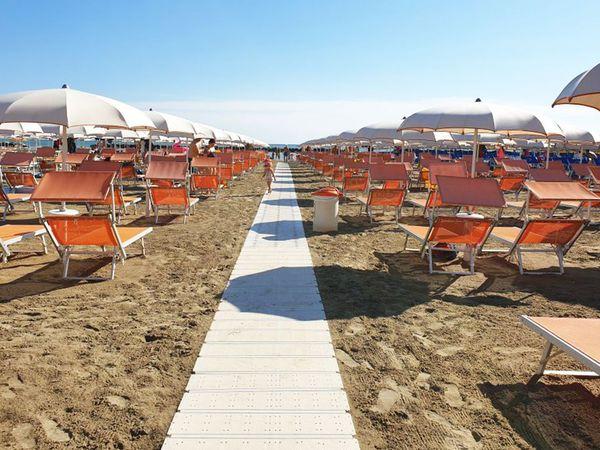 Bagno Il Gabbiano - Spiaggia