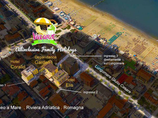 Hotel Corallo - Mappa
