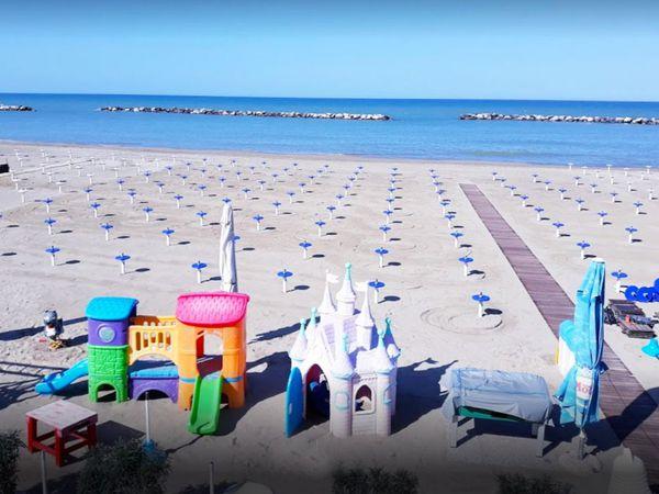 Bagno Adriatico - Spiaggia