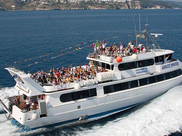 Motonave Adriatic Princess III - Tour