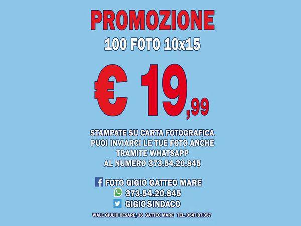 Foto Gigio - Promozione