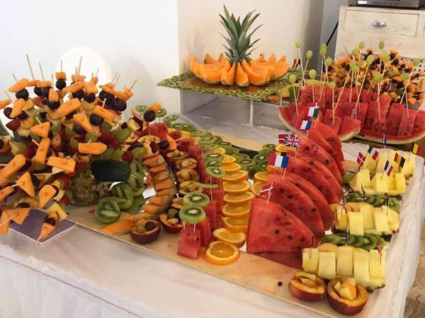 Hotel West End - Buffet di frutta